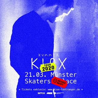 """KUMMER """"KIOX"""" Tour 2021 Präsentiert von DIFFUS und JUICE"""