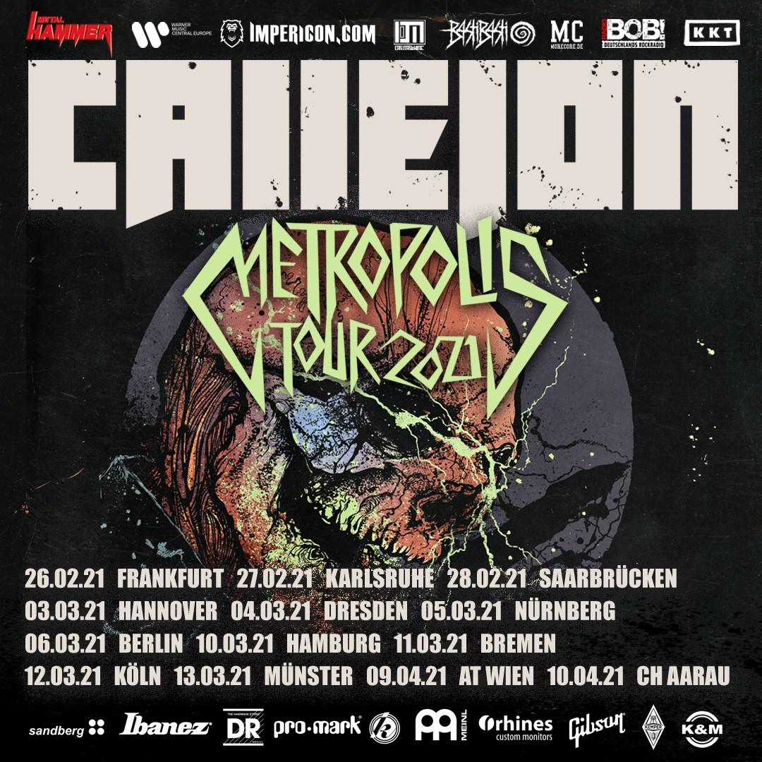 CALLEJON - METROPOLIS TOUR 2022
