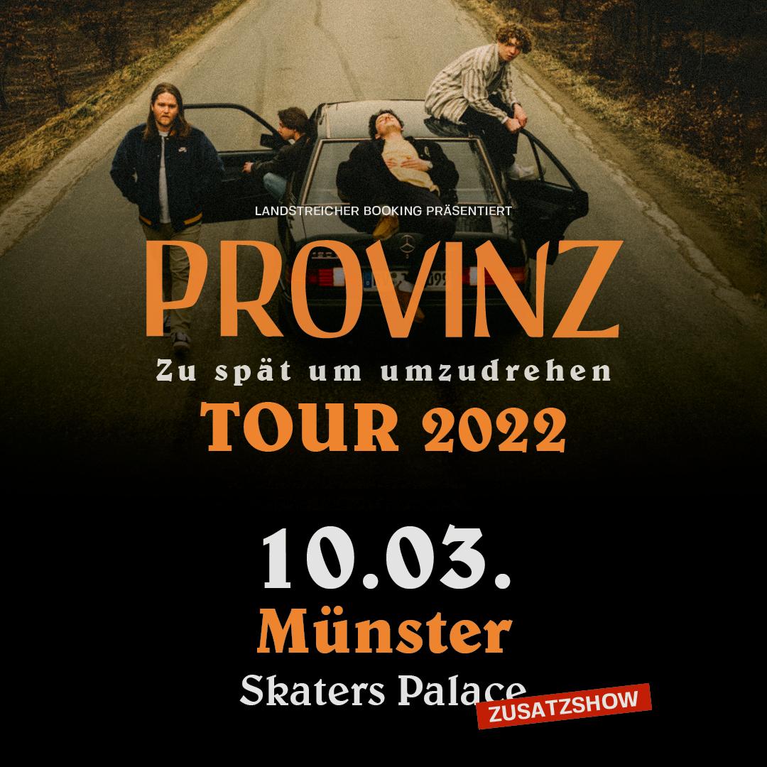 PROVINZ // Zusatzschow
